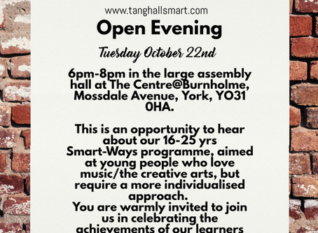 OPEN EVENING: focus on Smart-Ways