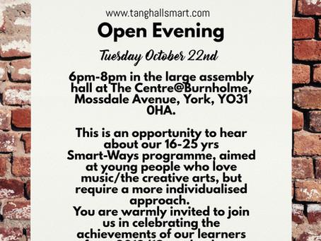 OPEN EVENING: focus on Smart-Ways