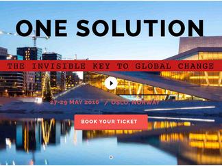 Una Solución al Cambio Global -           Oslo, Norway - 27 / 29 Mayo