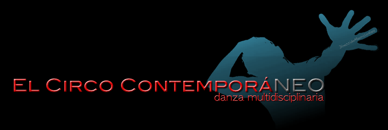 logo El Circo ContemporaNEO - black