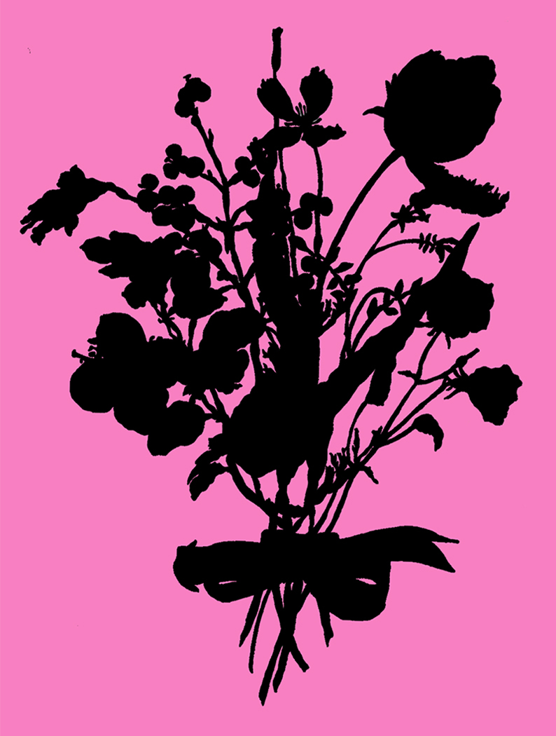 Wildflower Silhouette #94
