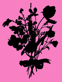 Wildflower Silhouette #94