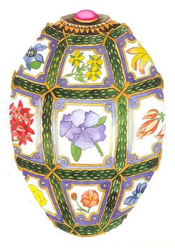 Jeweled Egg #130