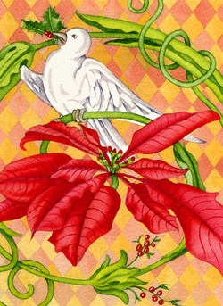 Christmas Dove #9