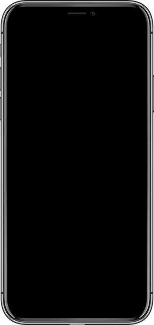 high detail phone front side vector drawing eps10 format isolated on white background [Con