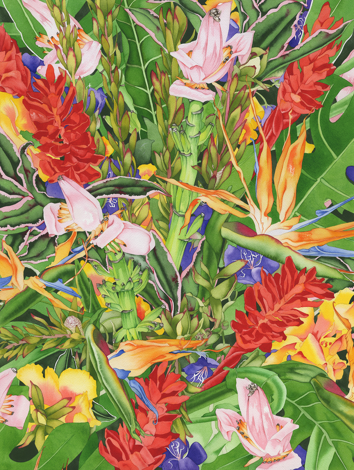 Tropical Punch ( textile version ) #83
