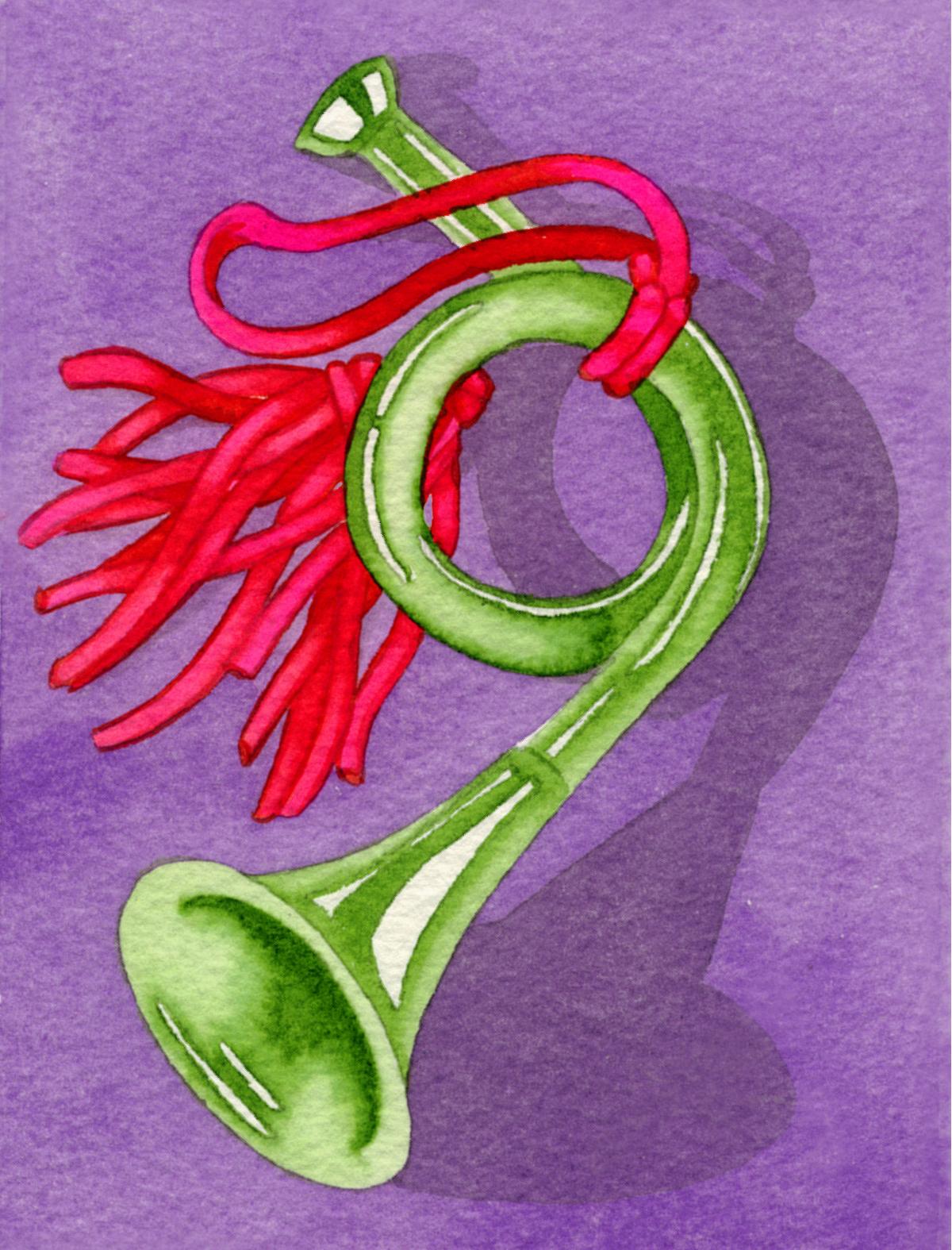 Christmas Horn #10