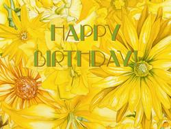Happy Birthdat ( Sunburst ) #156