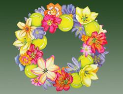 Floral Wreath #30
