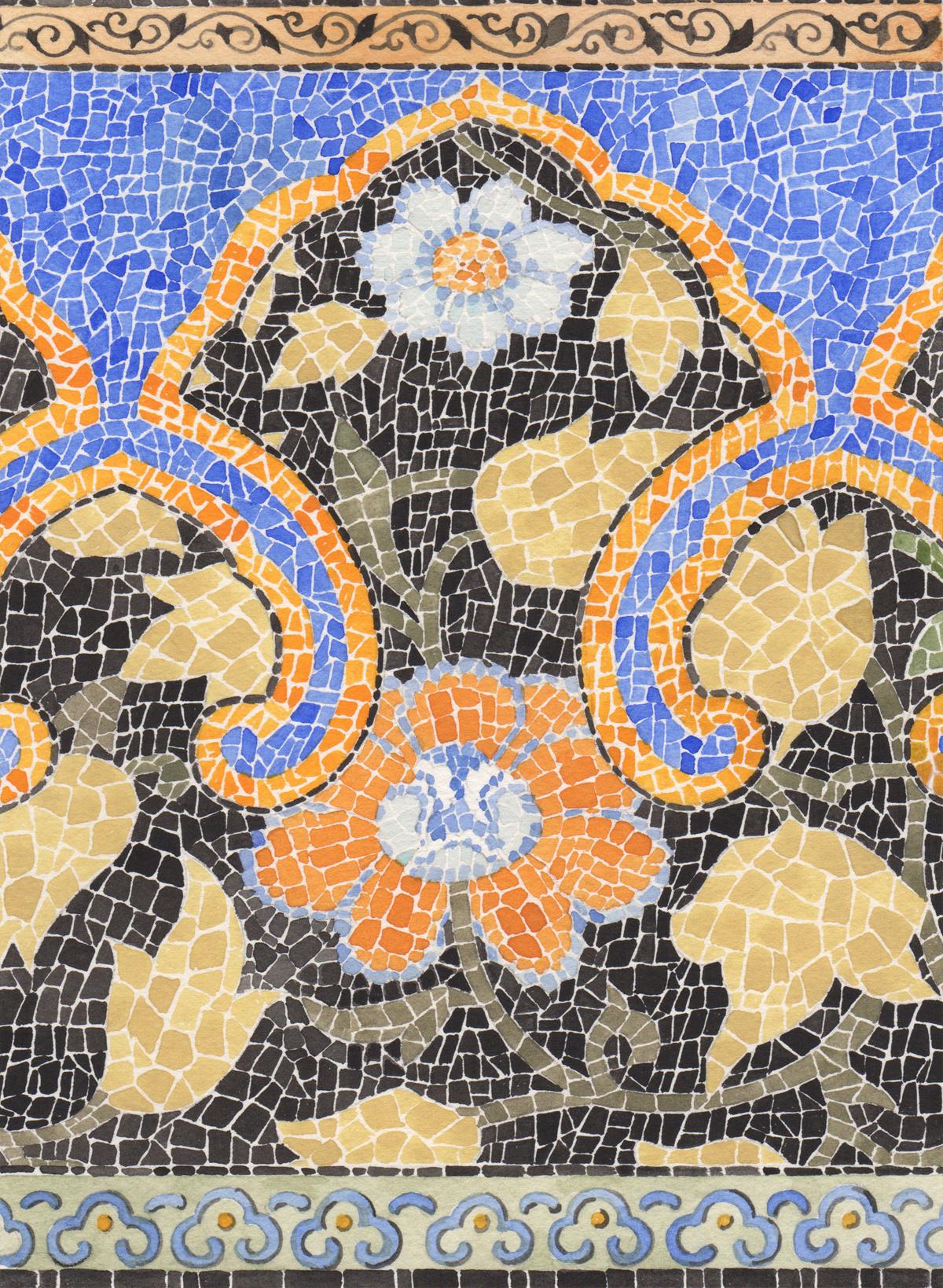 Moorish Mosaic #152