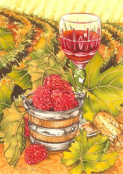 Raspberries and Port #109