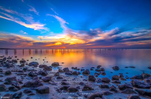 P00082 - Amber Sunset