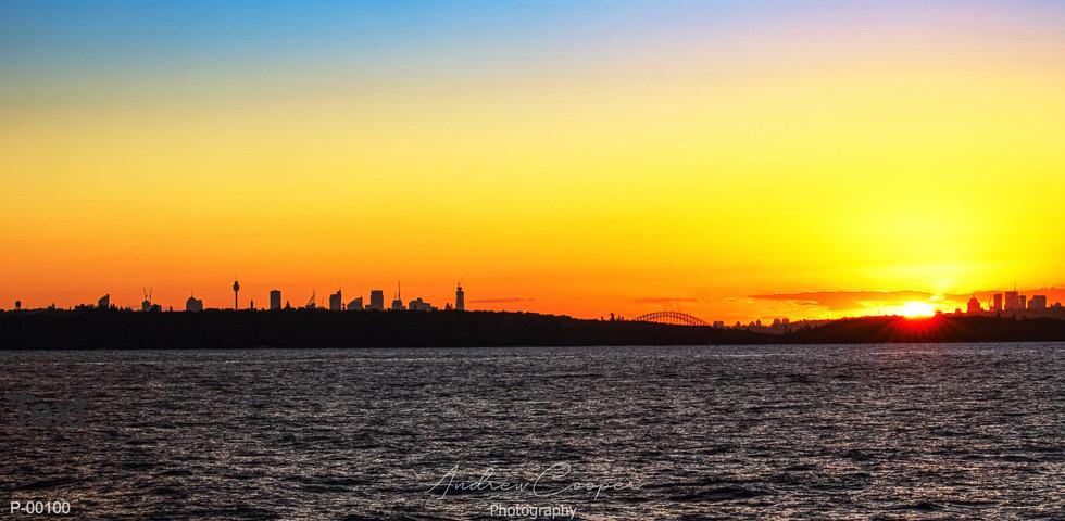 P-00104 - Coastal Sunset