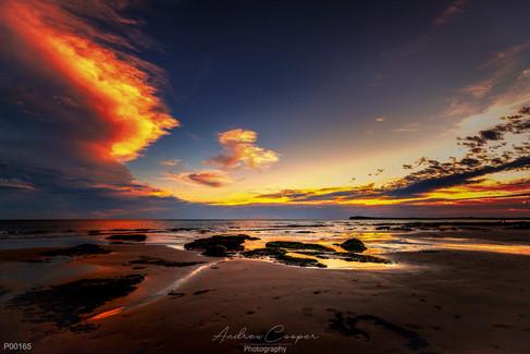 p00165 - Rocky Sunset