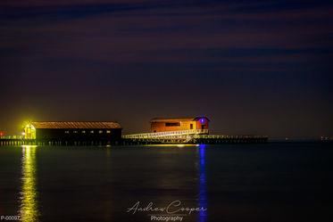 P00097 - Queenscliff Pier @ night