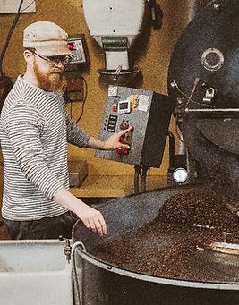 Chris Malberg coffee roaster