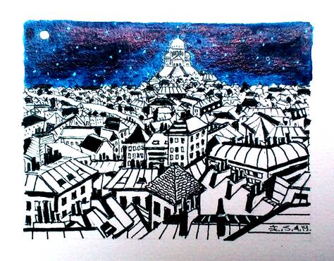 Les toits de Paris-Montmartre