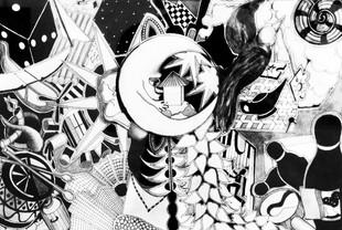 Composition en noir&blanc