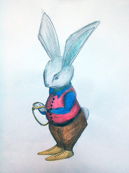 """Illustration pour """"Alice au pays des merveilles"""""""