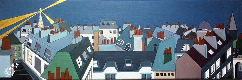 Les toits de Paris - numéro 2