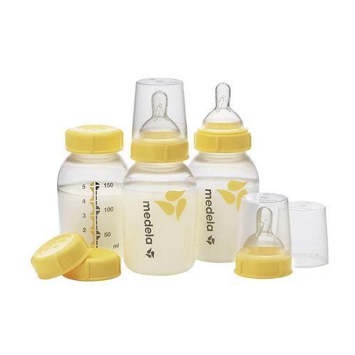 Set de Botellas Recolectoras para Leche Materna