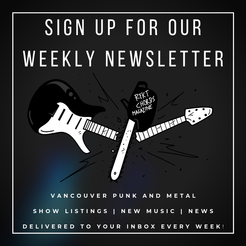 Rekt Chords Newsletter Sign Up