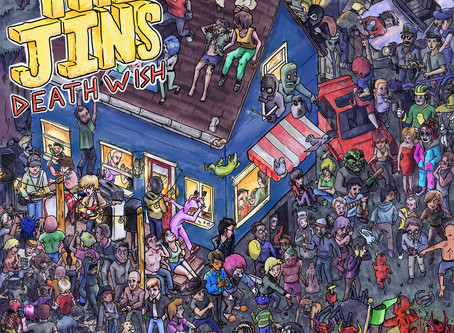 Album Review: The Jins | Death Wish EP