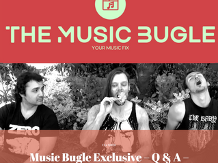 THE MUSIC BUGLE FEATURE INTERVIEW
