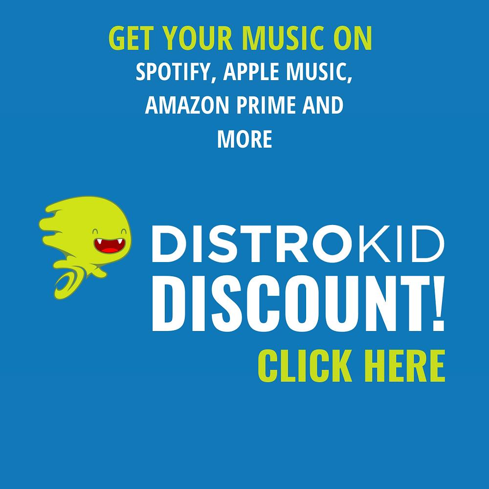 Distrokid Discount Code