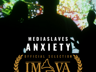 """ANXIETY"" OFFICIALLY SELECTED FOR INTERNATIONAL MUSIC VIDEO AWARDS"