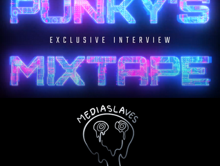 MEDIASLAVES VIDEO-INTERVIEW ON PUNKYS MIXTAPE