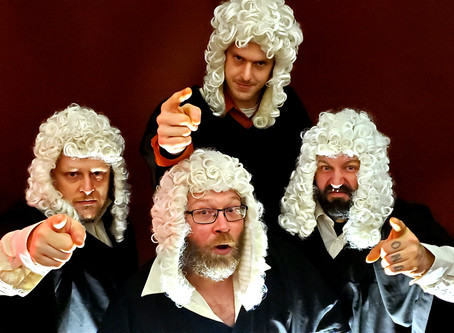 THE JUDGES SLAM THEIR GAVEL ON NEW LIVE ALBUM RECORDED AT RICKSHAW THEATRE