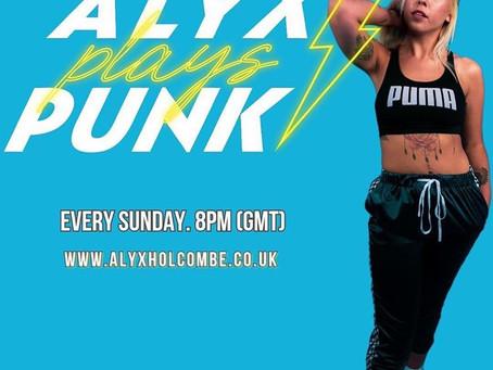 """FLEEKS AND GEEKS"" AIRS ON U.K. RADIO SHOW: ALYX PLAYS PUNK"
