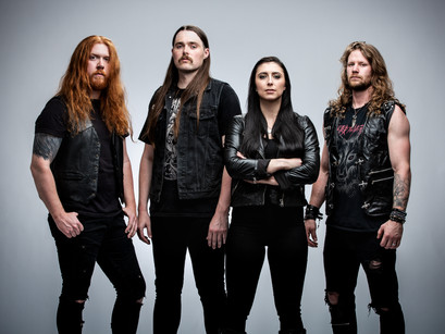 UNLEASH THE ARCHERS' BRITTNEY SLAYES DIVES INTO 'ABYSS'