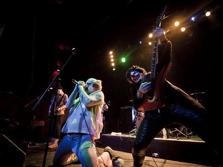POWERCLOWN RETURNS TO DRINK BOOZE, PLAY MAIDEN, AND SHOOT 'SILLY STRING'