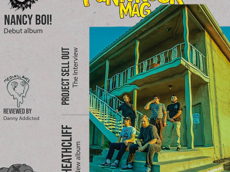 PUNK ROCK MAG 'FEAR AND LOATHING IN OUTER SPACE' EP REVIEW