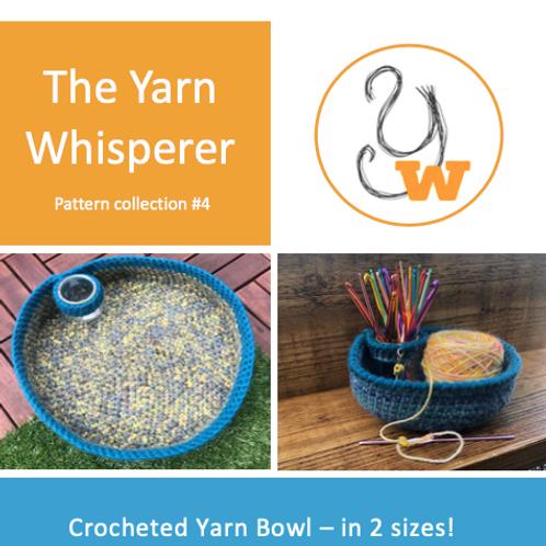 Crocheted Yarn Bowls Pattern