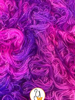 Magenta & Voilet swirls dyebath