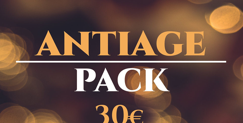 ANTIAGE PACK - Your anti-aging kit at a special price