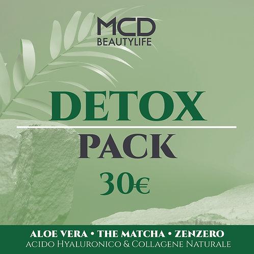 DETOX PACK - il tuo kit detossinante ad un prezzo speciale - 30.00€