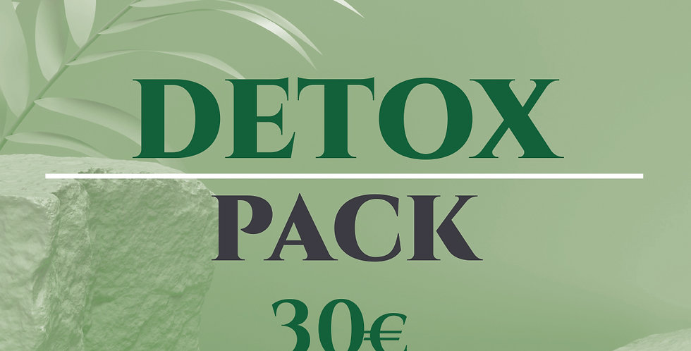 DETOX PACK - Your detox kit at a special price