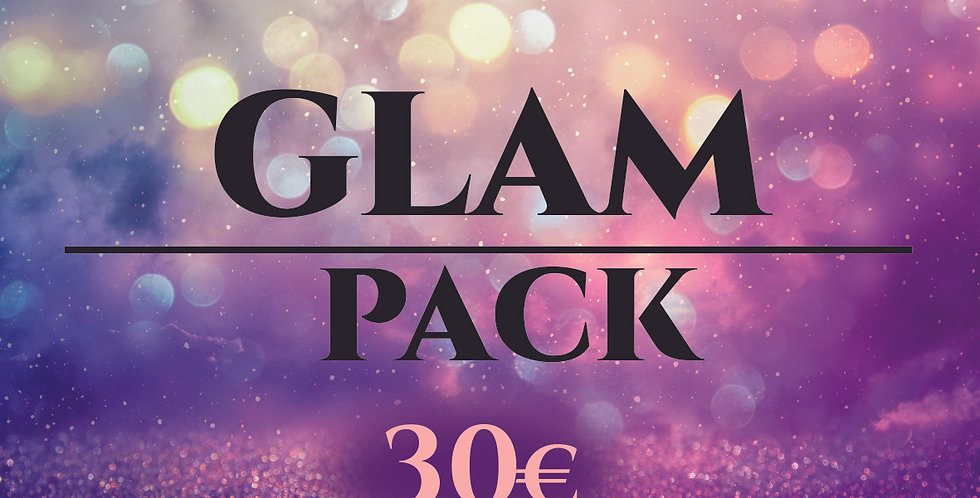 GLAM PACK - Your Super Glam kit at a special price