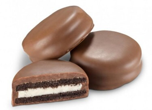 Milk Chocolate Doubled Stuffed Cream Filled Cookie