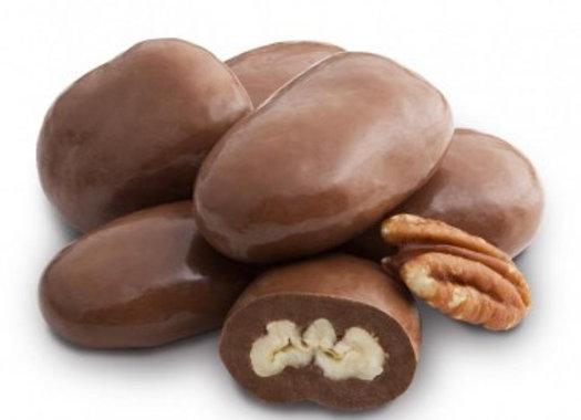 Milk Chocolate Amaretto Pecans 1/4 pound
