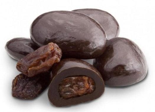 Dark Chocolate Raisins 1/4 pound
