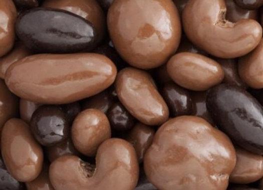Dark and Milk Chocolate Bridge Mix 1/4 pound