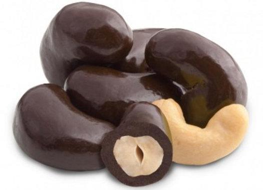 Dark Chocolate Cashews 1/4 pound