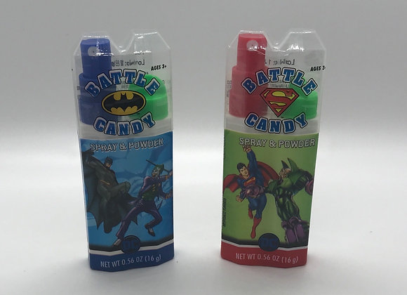 DC Battle Candy Spray and Powder