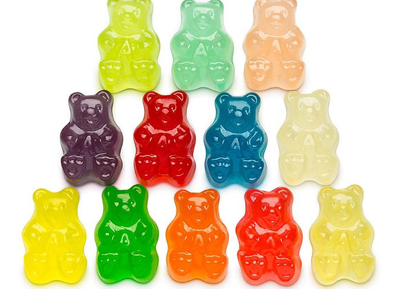 12 Flavored Bears 1/4 pound