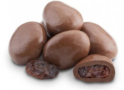 Milk Chocolate Raisins 1/4 pound